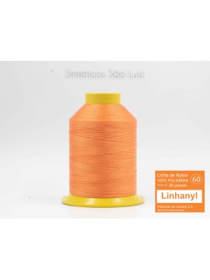 LINHA DE NYLON 60 LARANJA (COR 30)