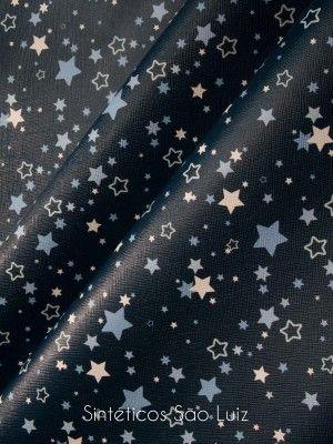Prada Estrelas Azul Marinho