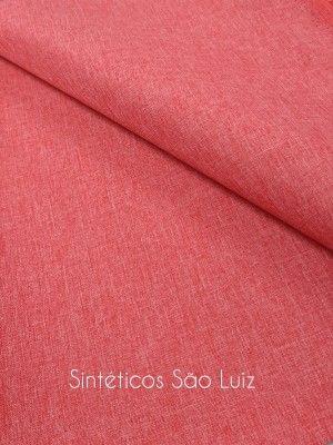 Nylon linho vermelho