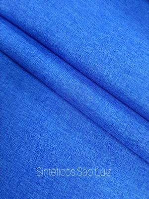 Nylon linho azul Royal