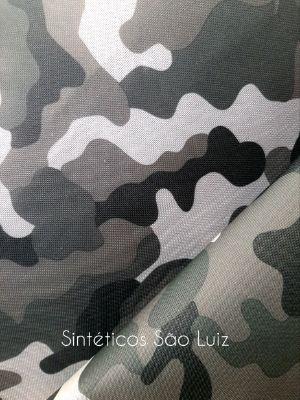 Nylon 600 camuflado cinza