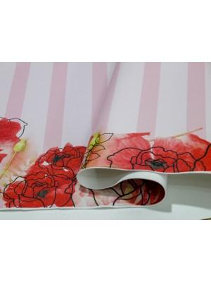 prada flores rosas - by silvia zukarelli