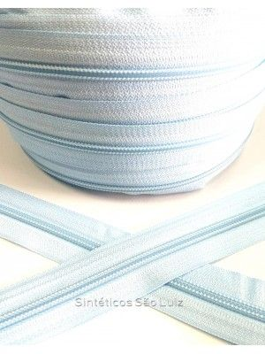 ziper N°5 azul claro