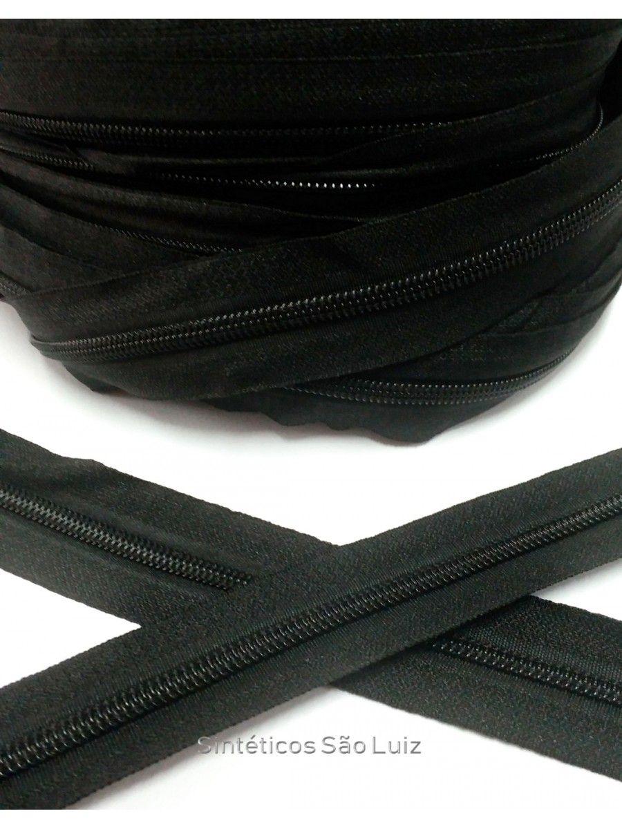 ziper n°5 preto