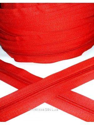 ziper n°5 vermelho